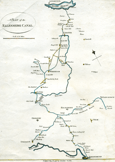 original ellesmere canal plans