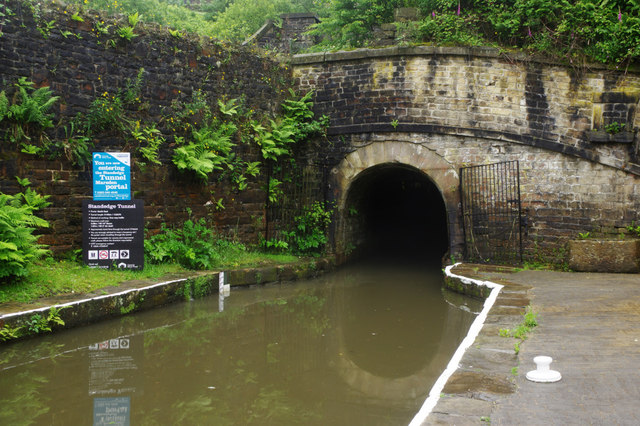 the entrance to the standege tunnel